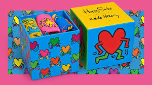 exclusive collection happy socks x keith haring