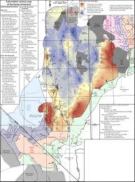 Map Of Southern Utah by Magnitudes And Spatial Patterns Of Erosional Exhumation In The