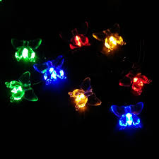 outdoor novelty string lights shapes all home design ideas