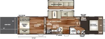 cherokee wolf pack toy hauler trailer floor plans access rv