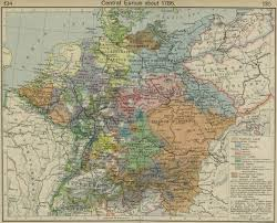 Current Map Of Europe Mochola Maps Of Central Europe 1648 1923