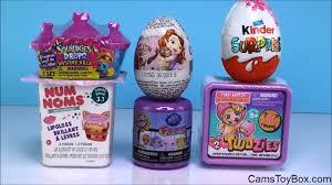 littlest pet shop easter eggs num noms 3 twozies series 2 littlest pet shop fashems squinkies