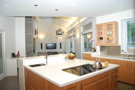 kitchen recessed lighting placement kitchen traditional with white