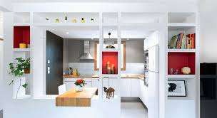 cuisine fonctionnelle plan plan de interieur maison contemporaine moderne pour cuisine