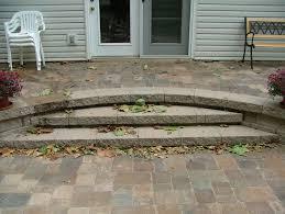 how to install paver patio retaining wall steps album 2