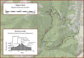 Castle Rock State Park Map by Slipperyrock Jpg