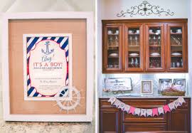 nautical baby shower thoughtfully styled