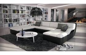 g nstiger sofa sofa u form great leather enzo shaped set with led light