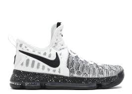 Nike Kd 9 zoom kd 9 oreo nike 843392 100 white black flight club