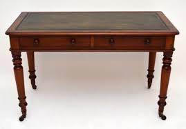 Schreibtisch Aus Eiche Antiker Viktorianischer Schreibtisch