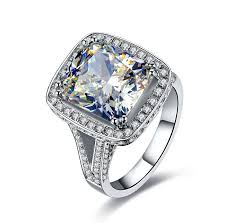 aliexpress buy 2ct brilliant simulate diamond men aliexpress buy 8ct surprised nscd lovely diamond ring for