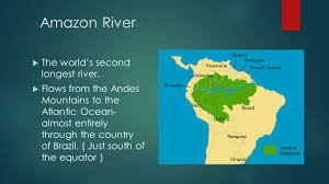 Amazon Basin Map Physical And Political Features Ppt Video Online Download