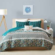 Teal Coverlet Intelligent Design Lacie 5 Piece Coverlet Set Free Shipping