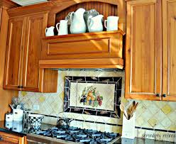 Kitchen Backsplash Decals Kitchen Backsplashes Hand Painted Porcelain Tiles Brick