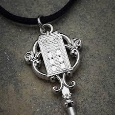 antique key necklace images Tardis union jack antique key necklace thinkgeek jpg