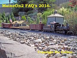 railroads the maine on2 faq