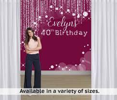personalized photo backdrop diamond sparkles party personalized photo backdrop birthday