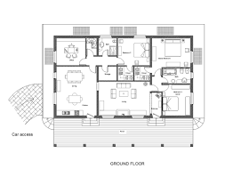 contemporary style house plan 3 beds 2 00 baths 5464 sq ft plan