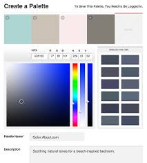 Paint Color Palette Generator by See The Top Color Scheme Generators