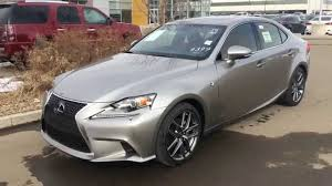 lexus 2014 is 250 2014 lexus is 250 awd atomic silver on red executive f sport