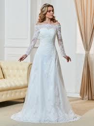 robe de mariã e manche longue dentelle acheter robe mariée manche longue dentelle de qualité en ligne
