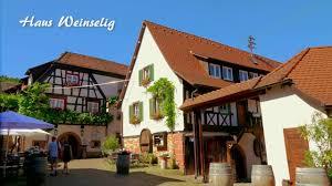 Haus U Haus Weinselig Gasthof U Hotel Zum Lam Gleiszellen Youtube