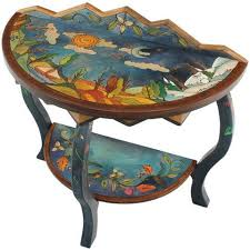 Sticks Tables Artistic Hand Painted Tables With Inspirational