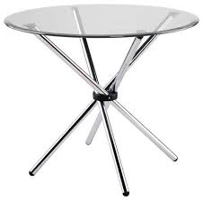 30 inch round dining table shop round crackle glass table products on houzz 30 inch round