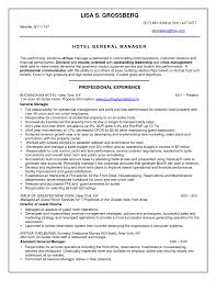 Hotel Front Desk Resume Examples Customer Service Manager Resume Objective Work Sample Objectives
