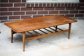 Surfboard Coffee Table Restored Bassett Mid Century Modern Coffee Table Mid Century Maul