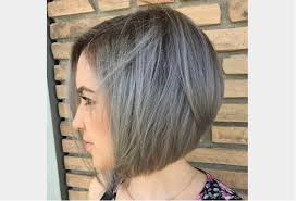 coupe pour cheveux gris coiffure pour cheveux fins sans volume cheveux gris avec racines