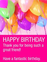 birthday cards for friends a fantastic birthday happy birthday card for friends