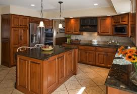 kitchen mozaic teak wood kitchen cabinets design ideas for small