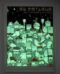 glow in the dark poster visual culture glow in the dark