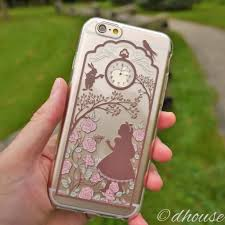 Alice In Wonderland Home Decor Unique Than Ever Made In Japan Soft Clear Iphone Case Alice In Wonderland Alice