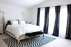 bedroom makeover and tips for installing curtains