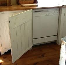 building a dishwasher cabinet cabinet front dishwasher 7 projects to hide ugly items around your