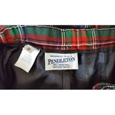 Pendleton Pants  Christmas Plaid High Waist Slacks  Poshmark