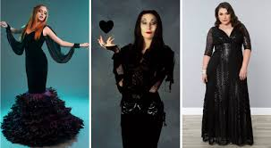 Morticia Addams Dress 13 Black Wedding Dresses That Will Bring Out Your Inner Morticia