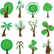 tree symbols vector graphic free vector in encapsulated postscript