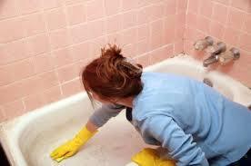 How To Clean A Jet Bathtub Cleaning A Fiberglass Tub Thriftyfun