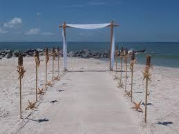wedding arch kit bamboo wedding arch and aisle way decorating kit