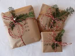 brown gift wrapping paper simple christmas gift wrap brown paper sts evergreen bakery