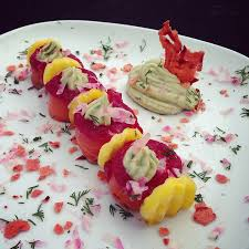 cuisiner betterave saumon gravlax à la betterave papa en cuisine