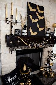 Halloween Decor Printables by Black U0026 Gold Halloween Free Printable Lillian Hope Designs