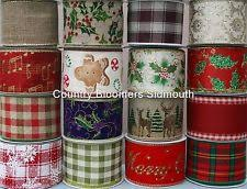 wired christmas ribbon gisela graham ribbon ebay