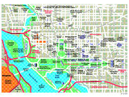 Washington Dc Subway Map Maps Update 21051488 Map Of Tourist Attractions In Washington Dc