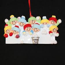 amazon com 4228 snowballs family of 10 hand personalized
