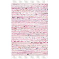 Rag Area Rug Safavieh Rag Rug Light Pink Multi 3 Ft X 5 Ft Area Rug Rar125e 3