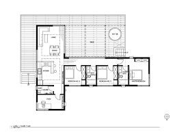 scale floor plan gallery a prefab retreat in the nevada desert nottoscale